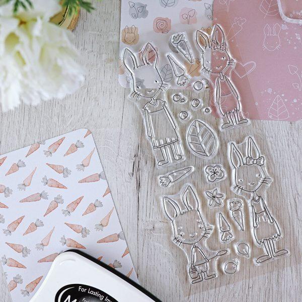 Set de sellos Carrotcake