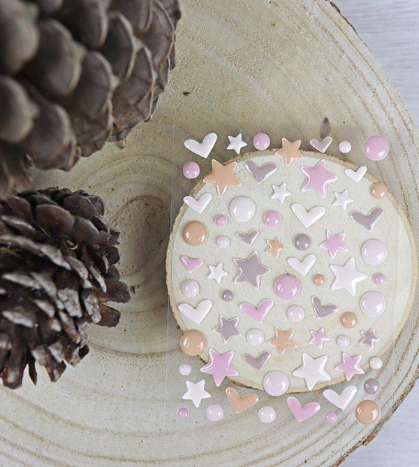 set de enamel dots de golpino colección otono