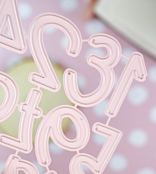 set de troqueles 123 candy 11 piezas