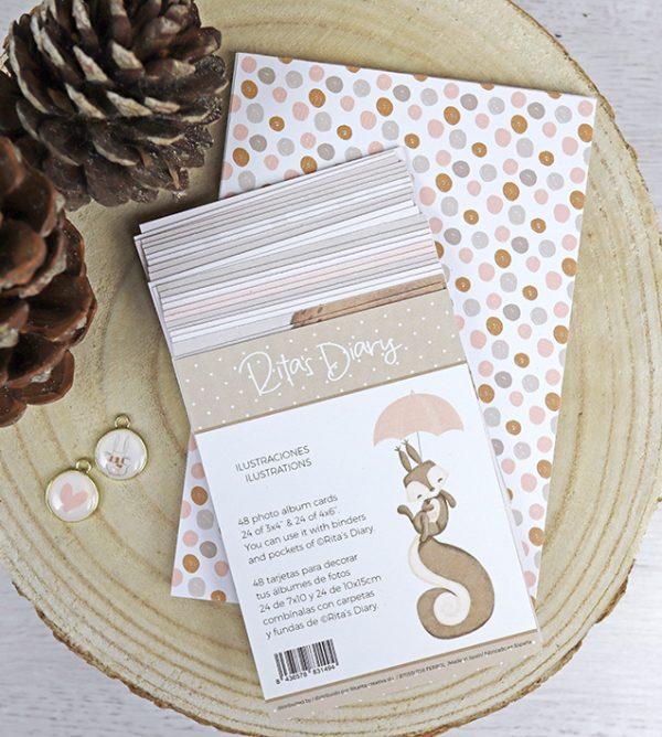 Set de tarjetas ilustraciones Golpino project life