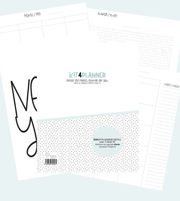 agenda diaria perpetua en pdf descargable para imprimir