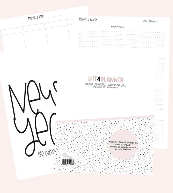 Agenda semanal perpetua en pdf descargable para imprimi