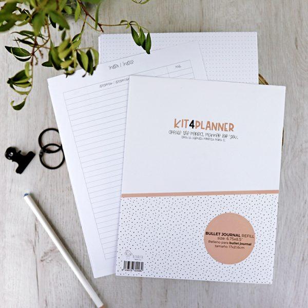 Relleno Bujo Kit 4 Planner