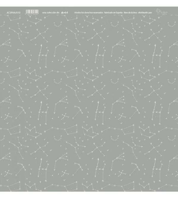 Papel acetato Alma constelaciones