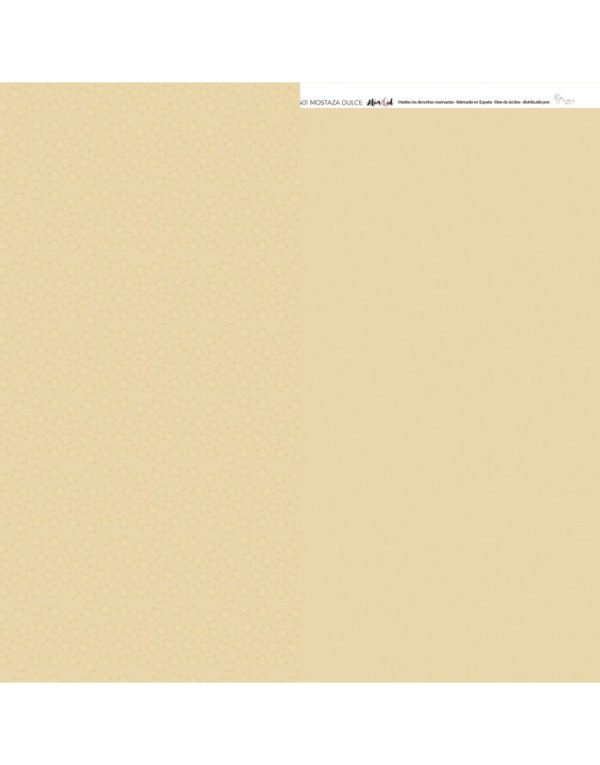cartulina basica mostaza dulce de Ari 32 x 45 cm
