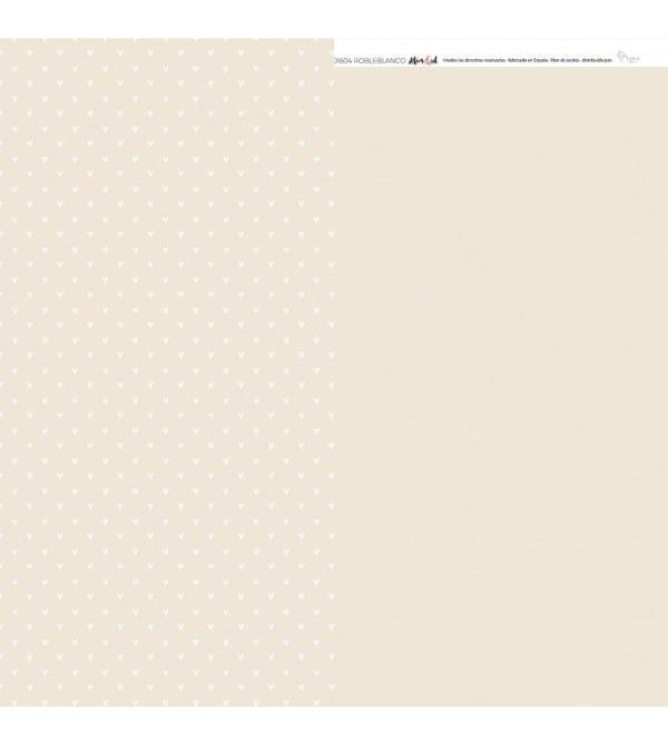 cartulina básica Roble blanco de Toffee A3