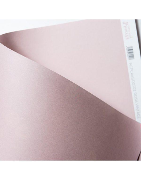 cartulina básica rosa vintage