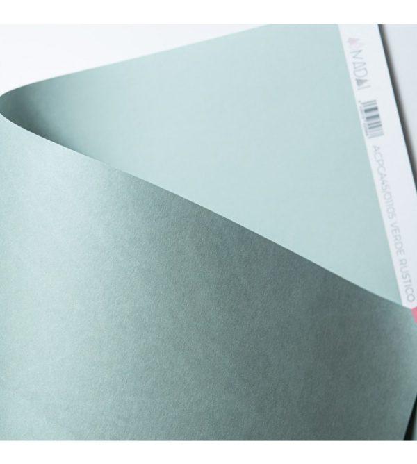 cartulina básica Verde rústico
