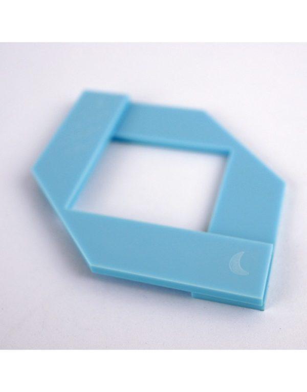 herramienta esquinas azul