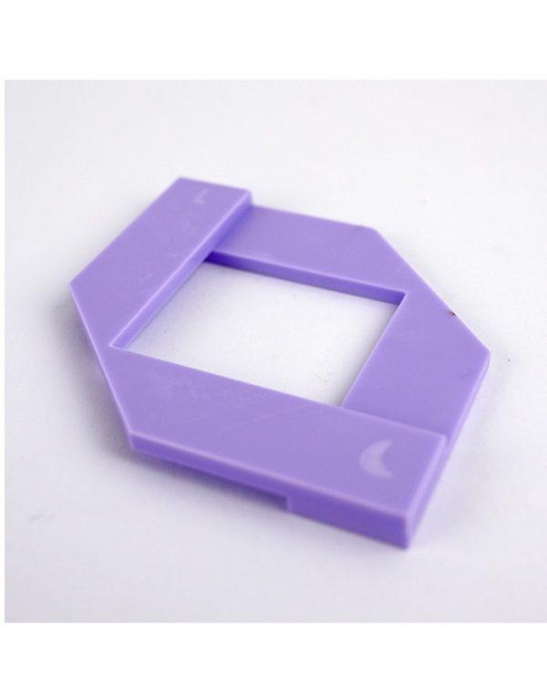 guia escuadra color lila