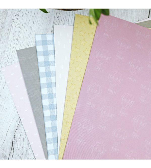 kit solidos de papel de scrapbooking Ari de alua cid