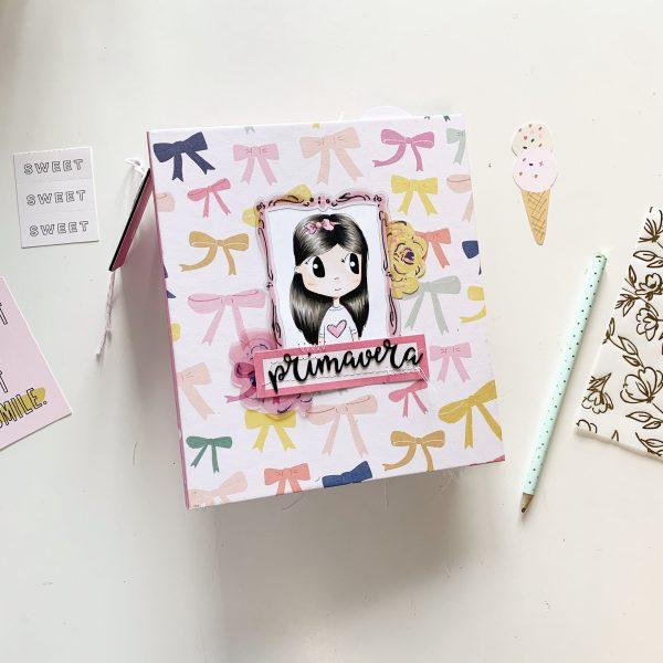 123 taller album fotos love primavera con Crate Paper