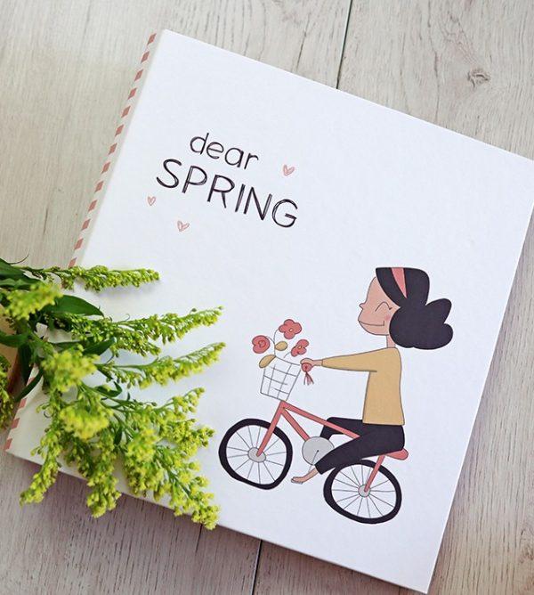 carpeta primavera para fotos de alua cid