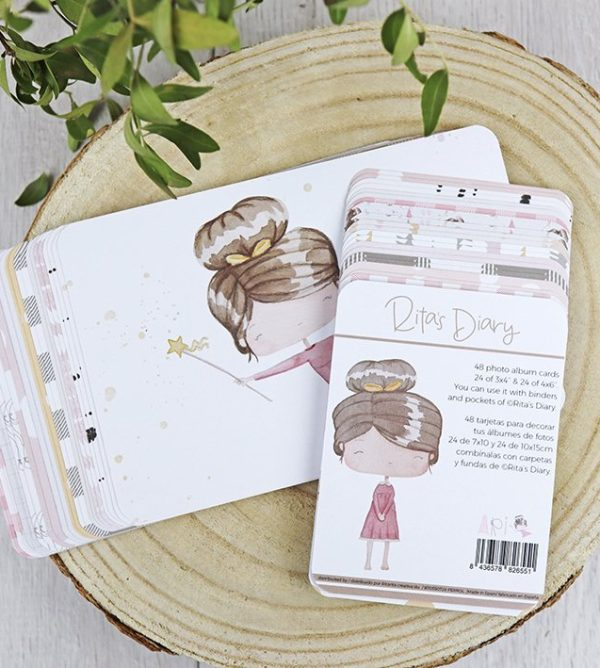 Set de tarjetas ari de alua cid para ritas diary