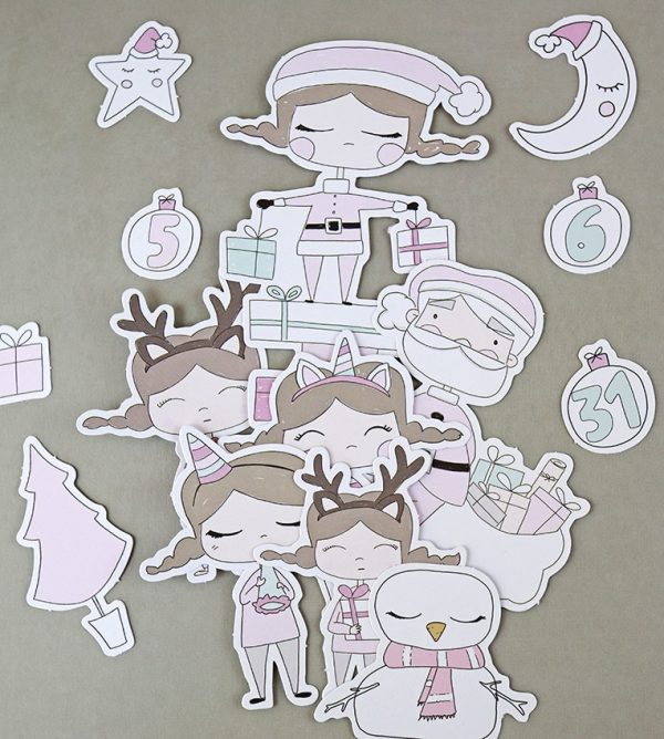 set de troquelados de nadal