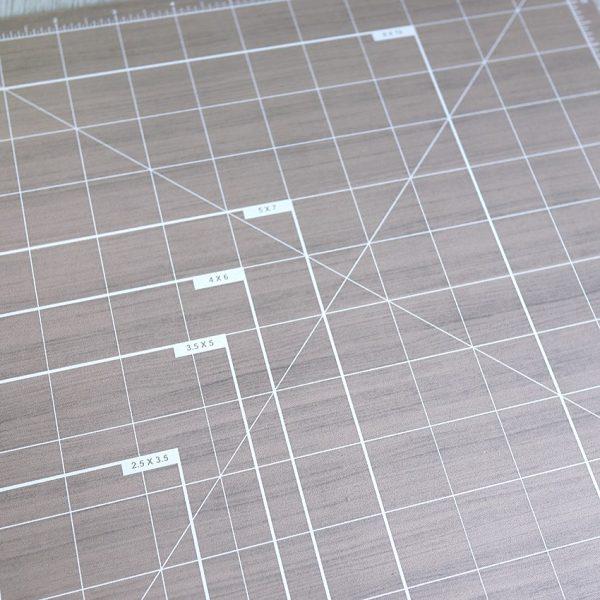 Base de corte alua cid efecto madera