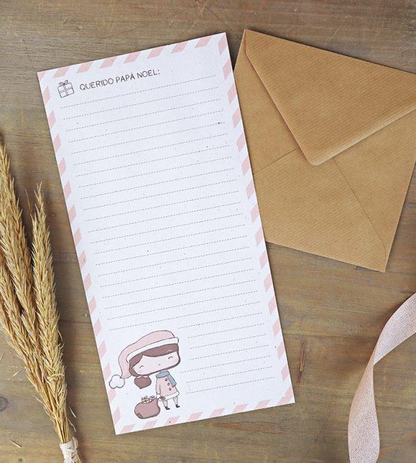 Carta para Papa Noel de la colección Mazapán