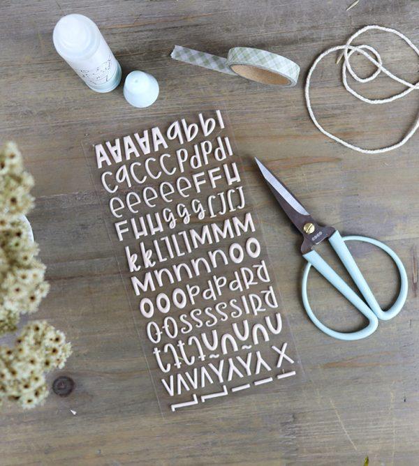 alfabeto puffy salmon dulce colección Mazapán