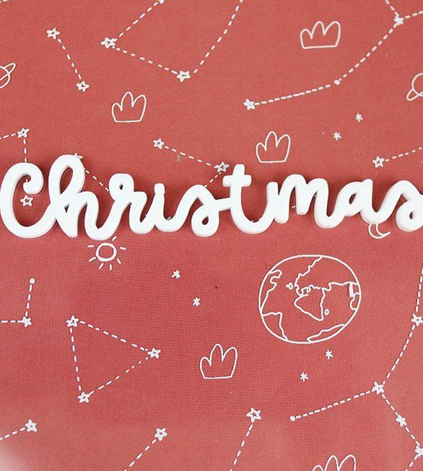 adorno navidad de metacrilato